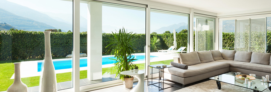 des menuiseries alu disponibles en diff rents coloris. Black Bedroom Furniture Sets. Home Design Ideas